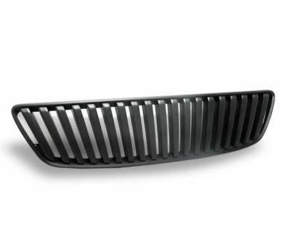 Grilles - Custom Fit Grilles - 4CarOption - Lexus GS 4CarOption Front Hood Grille - GRZ-GS4309805-BK