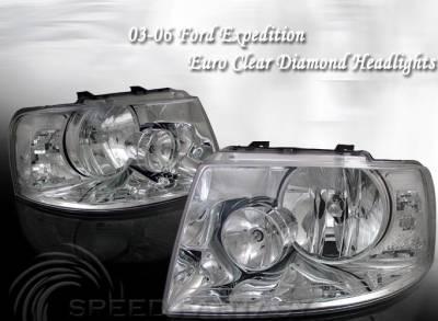 Headlights & Tail Lights - Headlights - Custom - Diamond Clear Headlights