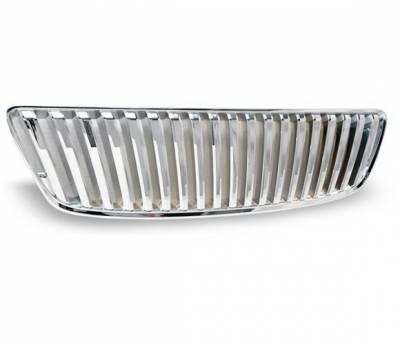 Grilles - Custom Fit Grilles - 4CarOption - Lexus GS 4CarOption Front Hood Grille - GRZ-GS4309805-CM