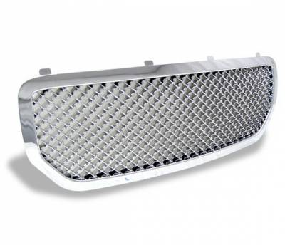 Grilles - Custom Fit Grilles - 4CarOption - Dodge Magnum 4CarOption Front Hood Grille - GRZ-MGN0506-CM