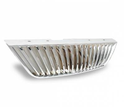 Grilles - Custom Fit Grilles - 4CarOption - Ford Mustang 4CarOption Front Hood Grille - GRZ-MST9904-CM