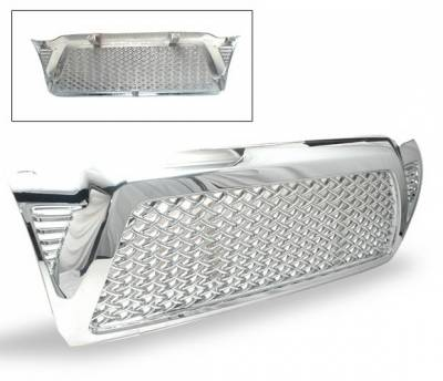 Grilles - Custom Fit Grilles - 4CarOption - Ford F150 4CarOption Front Hood Grille - GRZQ-TCM0509-CM