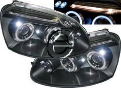 Headlights & Tail Lights - Headlights - Custom - Black Halo LED Headlights