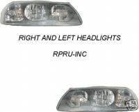 Headlights & Tail Lights - Headlights - Custom - Chrome Headlights