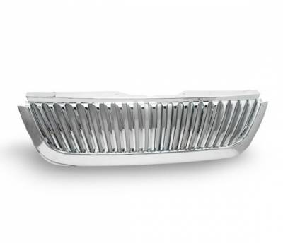Grilles - Custom Fit Grilles - 4CarOption - Ford Explorer 4CarOption Front Hood Grille - GRZV-EXPL0205-CM