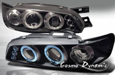 Headlights & Tail Lights - Headlights - Custom - Black Halo Pro LED Headlights