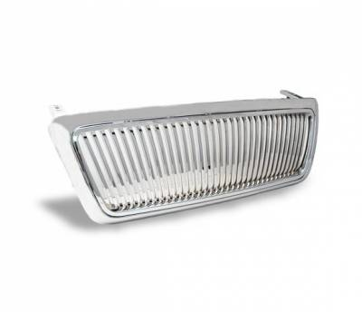 Grilles - Custom Fit Grilles - 4CarOption - Ford F150 4CarOption Front Hood Grille - GRZV-F1500405-CM
