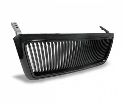 Grilles - Custom Fit Grilles - 4CarOption - Ford F150 4CarOption Front Hood Grille - GRZV-F1500405-JDM