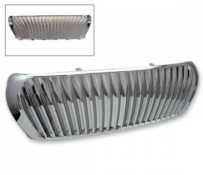 Grilles - Custom Fit Grilles - 4CarOption - Toyota Land Cruiser 4CarOption Front Hood Grille - GRZV-FJ2000809-CM