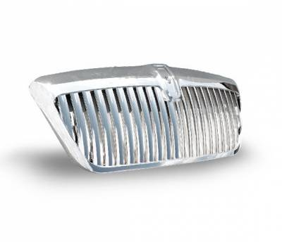 Grilles - Custom Fit Grilles - 4CarOption - Lincoln Navigator 4CarOption Front Hood Grille - GRZV-NVG9802-CM