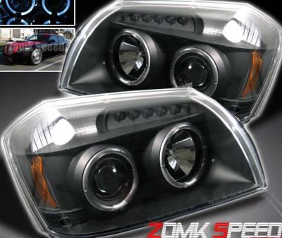 Headlights & Tail Lights - Headlights - Custom - JDM Black Halo LED Headlights