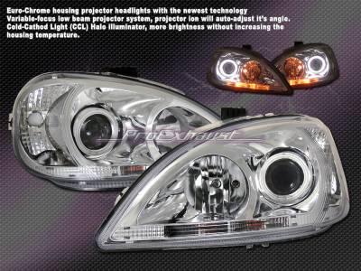 Headlights & Tail Lights - Headlights - Custom - Euro Chrome Pro Headlights