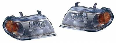 Headlights & Tail Lights - Headlights - Custom - Stock Headlights