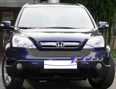 Grilles - Custom Fit Grilles - APS - Honda CRV APS Billet Grille - Upper - Aluminum - H66591A