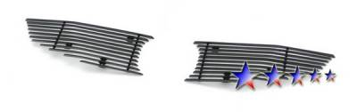 Grilles - Custom Fit Grilles - APS - Honda Civic 2DR APS Grille - H66765A