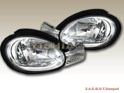 Headlights & Tail Lights - Headlights - Custom - Crystal Clear Headlights