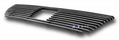 Grilles - Custom Fit Grilles - APS - Honda Element APS Billet Grille - with Logo Opening - Upper - Aluminum - H67118A