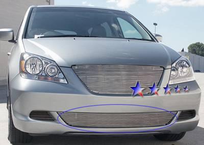 Grilles - Custom Fit Grilles - APS - Honda Odyssey APS Billet Grille - Bumper - Aluminum - H67120A