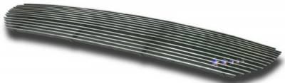 Grilles - Custom Fit Grilles - APS - Honda Pilot APS Billet Grille - with Logo Opening - Upper - Aluminum - H67128A