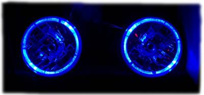 Headlights & Tail Lights - Headlights - Custom - Angel Eye Euro  Headlights