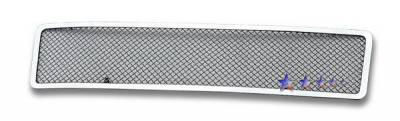 Grilles - Custom Fit Grilles - APS - Honda Element APS Wire Mesh Grille - Upper - Stainless Steel - H76502T