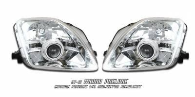 Headlights & Tail Lights - Headlights - Custom - JDM LED Clear Halo Pro Headlights
