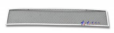 Grilles - Custom Fit Grilles - APS - Honda Element APS Wire Mesh Grille - Bumper - Stainless Steel - H76559T