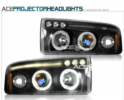 Headlights & Tail Lights - Headlights - Custom - Black Pro LED Headlights