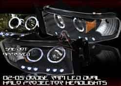 Headlights & Tail Lights - Headlights - Custom - Black Halo LED Pro Headlights
