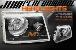 Headlights & Tail Lights - Headlights - Custom - Black Pro Headlights