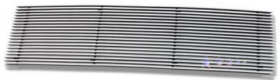 Grilles - Custom Fit Grilles - APS - Honda Ridgeline APS Billet Grille - Upper - Stainless Steel - H87114S