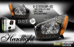 Headlights & Tail Lights - Headlights - Custom - Black Housing Headlights