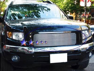 Grilles - Custom Fit Grilles - APS - Honda Ridgeline APS Phat Grille - Upper - Stainless Steel - H87114T