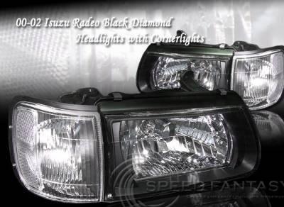 Headlights & Tail Lights - Headlights - Custom - Black Diamond Headlights