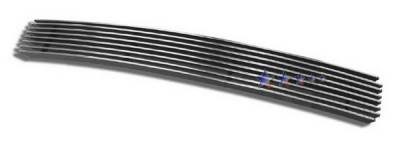 Grilles - Custom Fit Grilles - APS - Honda Ridgeline APS Billet Grille - Center - 1PC - Bumper - Aluminum - H87116A