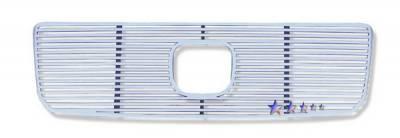 Grilles - Custom Fit Grilles - APS - Honda Pilot APS CNC Perimeter Grille - H97113A