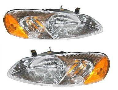 Headlights & Tail Lights - Headlights - Custom - Chrome Headlights