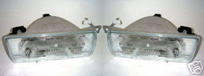 Headlights & Tail Lights - Headlights - Custom - Sable Headlights