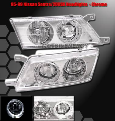 Headlights & Tail Lights - Headlights - Custom - Chrome Housing Headlights