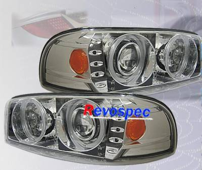 Headlights & Tail Lights - Headlights - Custom - Chrome Pro Headlights