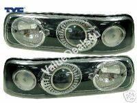 Headlights & Tail Lights - Headlights - Custom - Black HID Pro Headlights