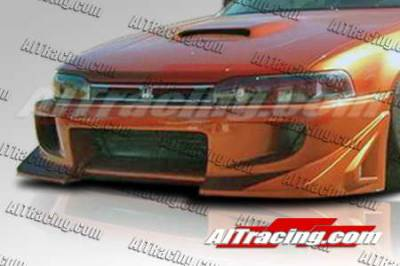 Accord Wagon - Front Bumper - AIT Racing - Honda Accord AIT Racing BZ Style Front Bumper - HA90HIBZSFB