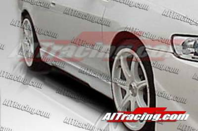 Accord 2Dr - Side Skirts - AIT Racing - Honda Accord AIT Racing EVO4 Style Side Skirts - HA90HIEVO4SS