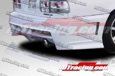Accord Wagon - Rear Bumper - AIT Racing - Honda Accord AIT Racing Extreme Style Rear Bumper - HA90HIEXSRB