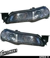 Headlights & Tail Lights - Headlights - Custom - JDM Black Headlights