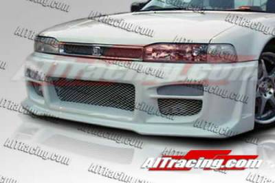 Accord Wagon - Front Bumper - AIT Racing - Honda Accord AIT Racing R34 Style Front Bumper - HA90HIR34FB