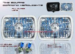 Headlights & Tail Lights - Headlights - Custom - Diamond Headlights