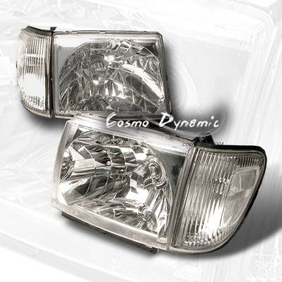 Headlights & Tail Lights - Headlights - Custom - Crystal Clear Headlights