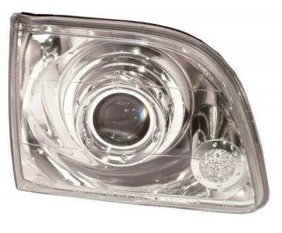 Headlights & Tail Lights - Headlights - Custom - Bi-Xenon Chrome Projector Headlights