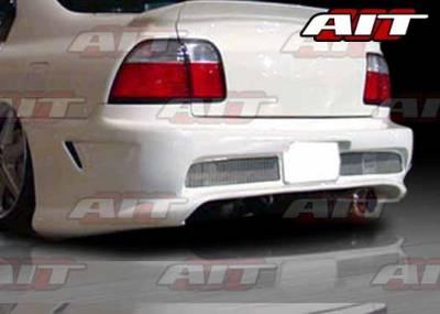 Accord 2Dr - Rear Bumper - AIT Racing - Honda Accord AIT Combat Style Rear Bumper - HA96HICBSRB